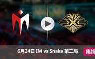 2017LPL夏季赛赛6月24日 IMvsSnake第二局集锦