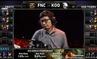 FNC vs KOO 第一局